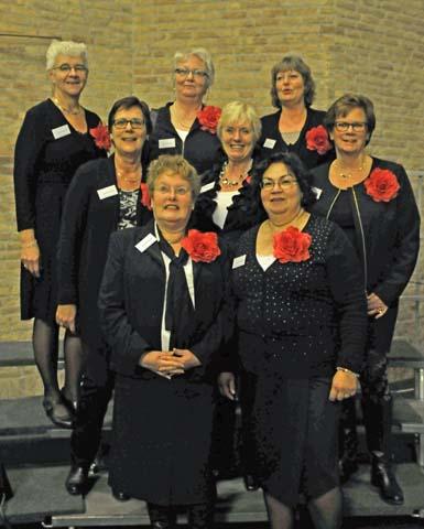 Gastvouwen van ons koor